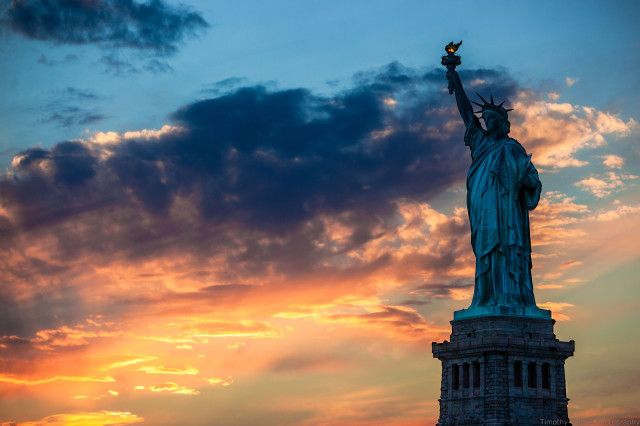 Sculpture Liberty Wallpaper HD