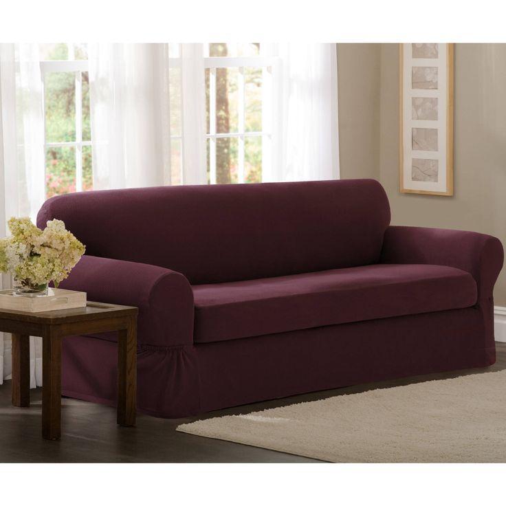 Denim Sofa Slipcover 2 Piece