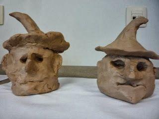 Klasnieuws 3de en 4de leerjaar: Knutselen rond Halloween