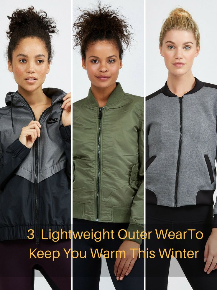 I am not a fan of heavy clothing to keep warm, so I searched for lightweight outer wear and found these three affordable high quality lightweight jackets to keep warm this winter.