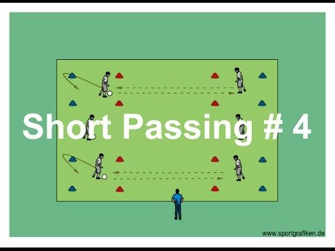Great Pass And Move Soccer Drills - YouTube