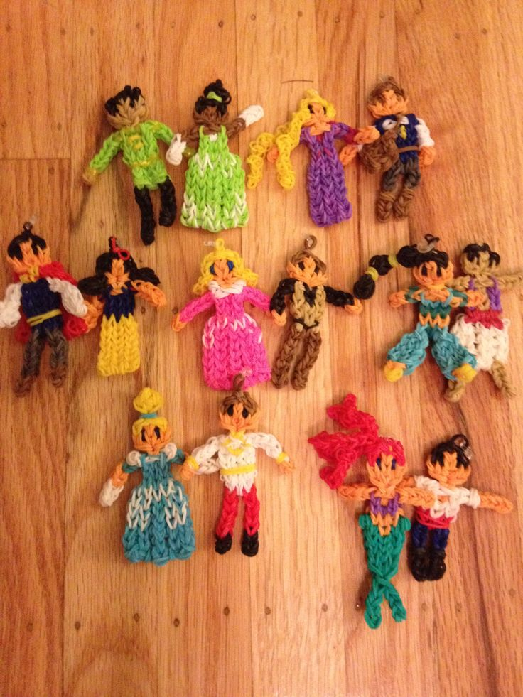 Rainbow Loom - Disney couples