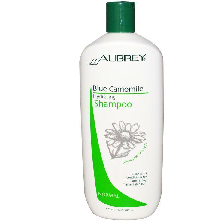 Aubrey Organics, Hydrating Shampoo, Blue Camomile
