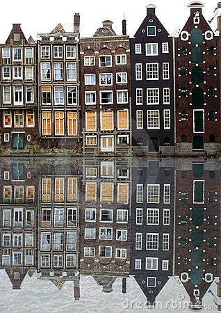 Amsterdam houses print