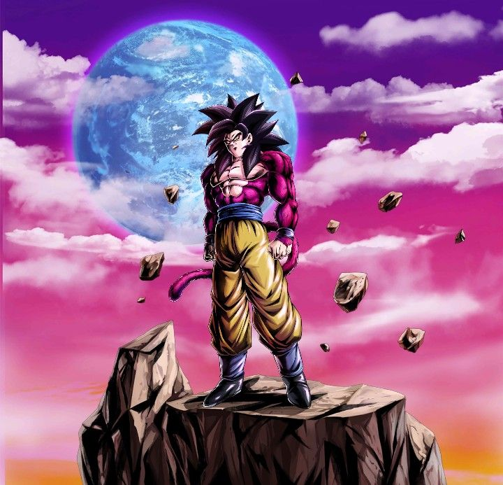 Goku SS4 DB Legends Anime dragon ball super, Dragon ball