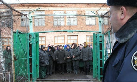 How will the Pussy Riot band members fare in Russia's 'harshest prisons'?  Russia's 'correctional colonies' have high wooden fences topped by razor wire and watch towers, while the remote locations make visits from parents and children extremely difficult