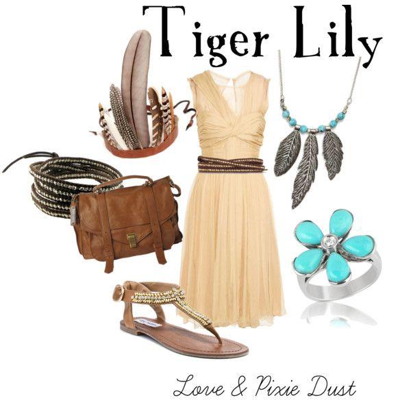 princess tiger lily!