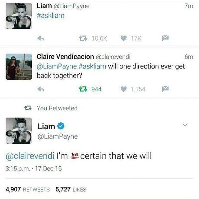 Liam twitter soru cevaplarını çeviriyorum. (Bana aittir almayın) . fan: One Direction hiç tekrar dönecek mi? Liam: Döneceğimizden %100 eminim. . fan: Bollywood mu Hollywood mu? Liam: BHollywood. (Espri seviyem amk) . fan: Neden beni görmüyorsun? Liam: Twitter daha o kadar gelişmedi. . fan: Favori sanatçın kim ? Liam: Drake . . . . . #onedirection #harrystyles #liampayne #niallhoran #louistomlinson
