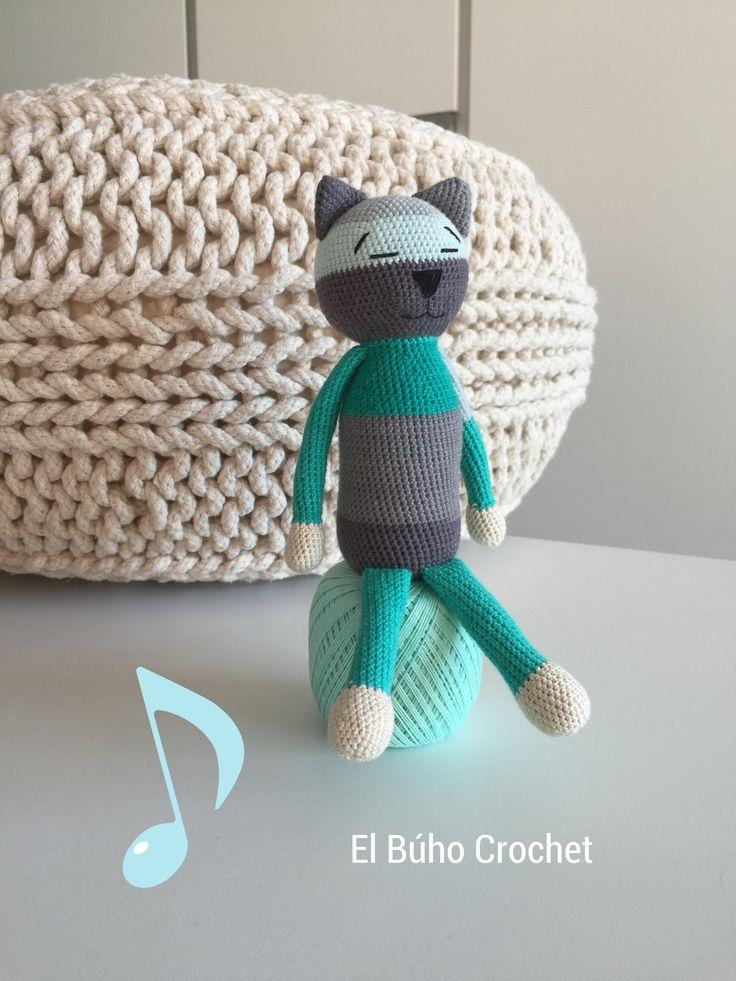 🦉👛 Enjoy your cat  #amineko#crochetcat #amigurumi#gato#felino