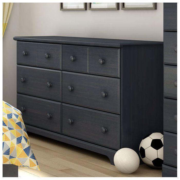 Barra 6 Drawer Double Dresser
