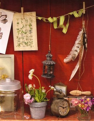 Be creative in the garden shed.
