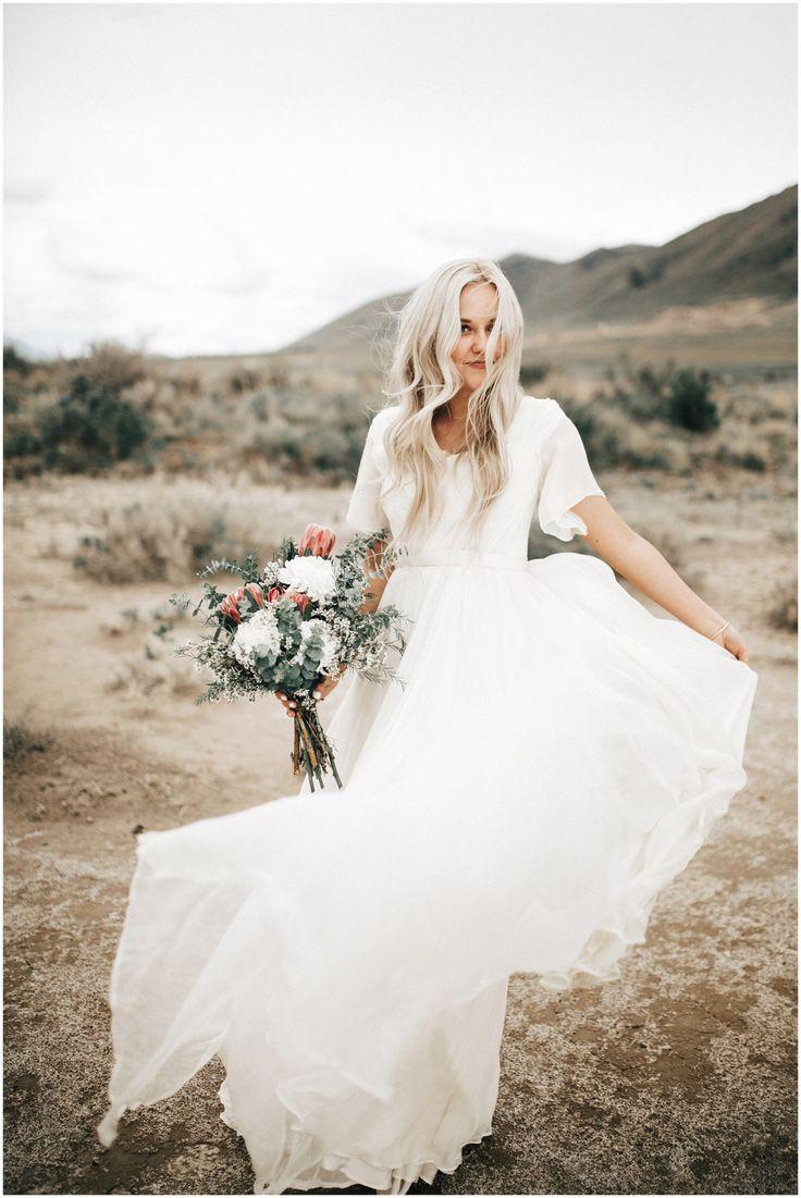 dress, bouquet, hair, venue