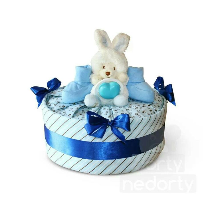 Collection S blue (nappy cake)