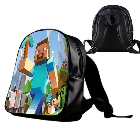 Minecraft Game   Backpack/Schoolbags for kids. by Wonderfunny #Minecraft #backpack #schoolbags #gift #birthday