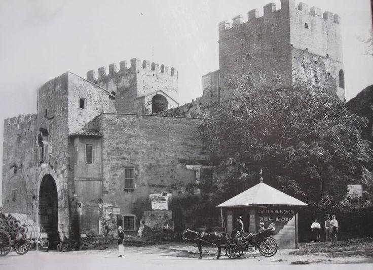 Porta S.Paolo vista dall'interno