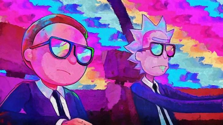 4k Rick And Morty Wallpaper I Created From Run The Jewels Music Video Rick And Morty Poster Rick And Morty Comic Rick And Morty Stickers