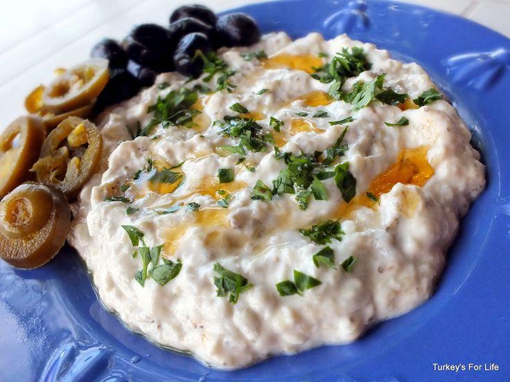 Turkish Recipes: Baba Ganoush Or Yoğurtlu Patlıcan Salatası