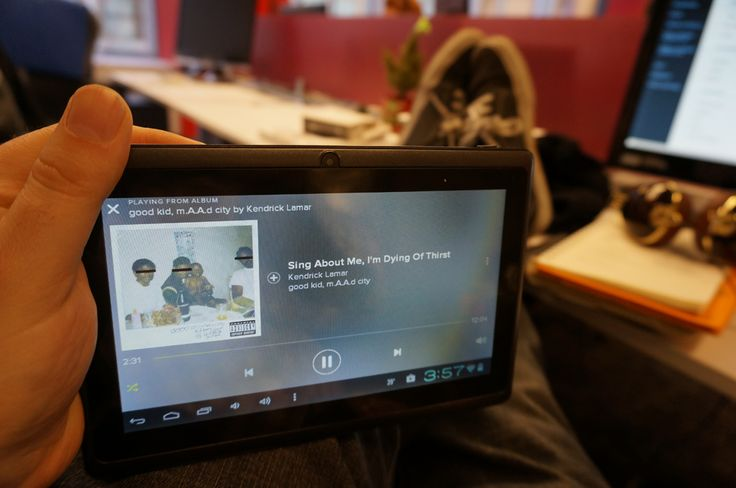 12 Things You Can Replace With a $38 Tablet. Here: A dedicated Pandora or Spotify radio player