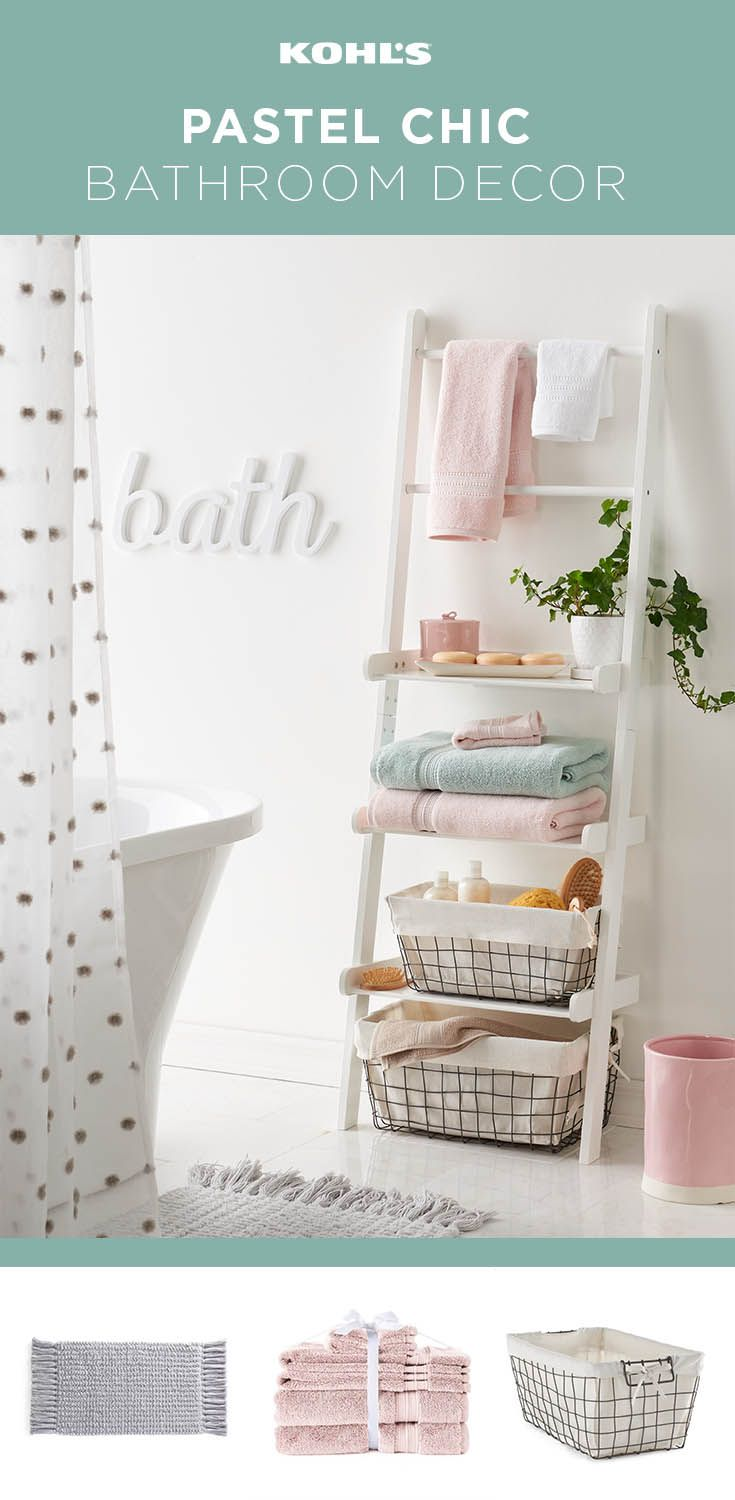 on your bathroom for spring whether you want to create a completely new look or just add a few key pieces we ve got just what you need a ladder shelf