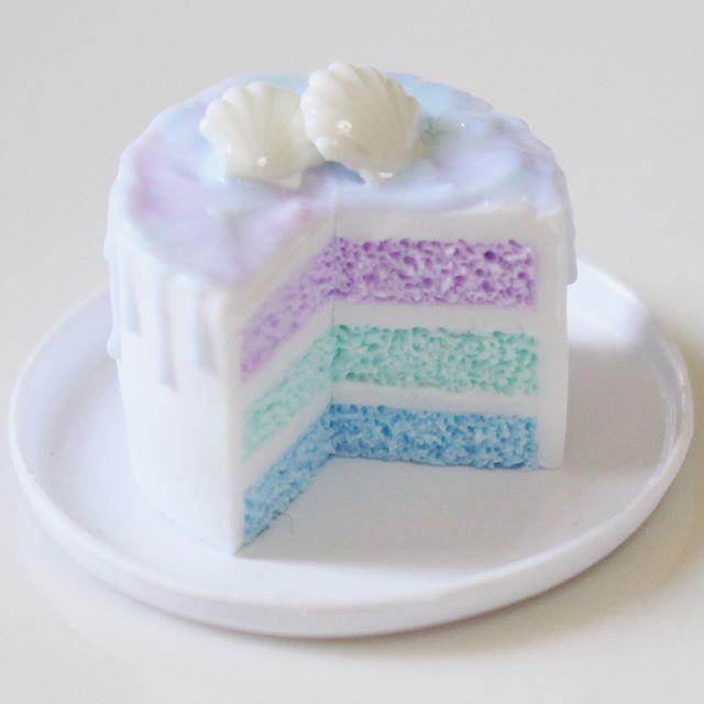 2017. Miniature Sea Cake ♡ ♡ By annkochann