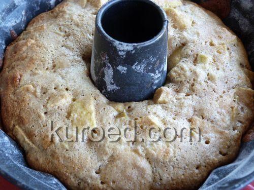 #РЕЦЕПТЫ | Овсяный #пирог с яблоками и ревенем #выпечка #яблоки #ревень