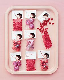 This Valentine's Day, encourage kids to show sweet sentiments with tokens of affection that go beyond the store-bought card. Most of the projects require only a bit of cutting and a little gluing