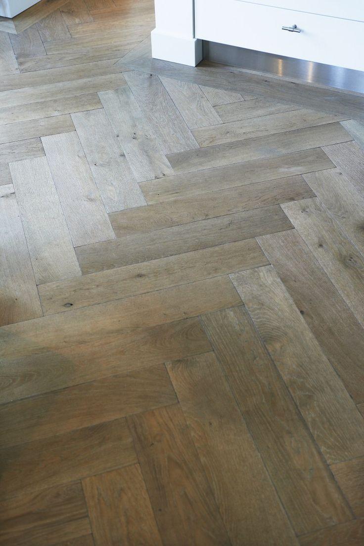 eiken houten vloer I visgraat I Kabaz