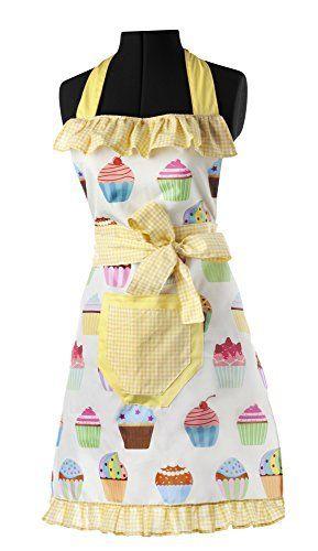Casa vigar lulu muffin tablier de cuisine http www - Tabliers blouse et torchons de cuisine ...
