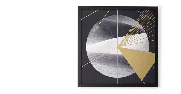 Gold Desert, ingelijste print