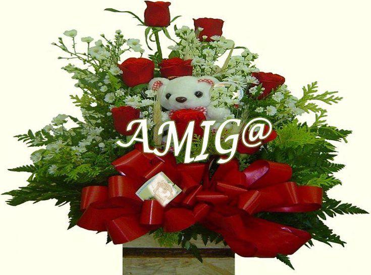 Ramo De Rosas Rojas Para Mi Mejor Amigo