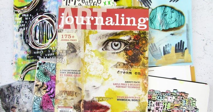 """Adding """"Published artist"""" to my resume has been a dream I've been working on for a long time, and to see that dream come to fruition is just another kind of amazing.The very best part is that I'd love to gift not one but TWO copies of Art Journaling to some fellow artists."""