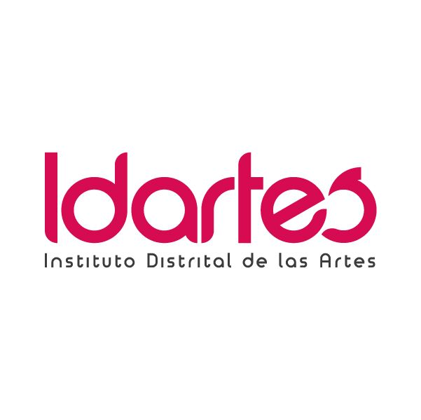 Logo / Instituto Distrital de las Artes - IDARTES. Diseño: Oscar Zambrano. Bogotá, 2014.