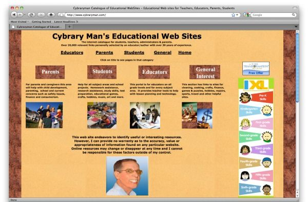 Cybraryman - a vast collection of resources on PBL