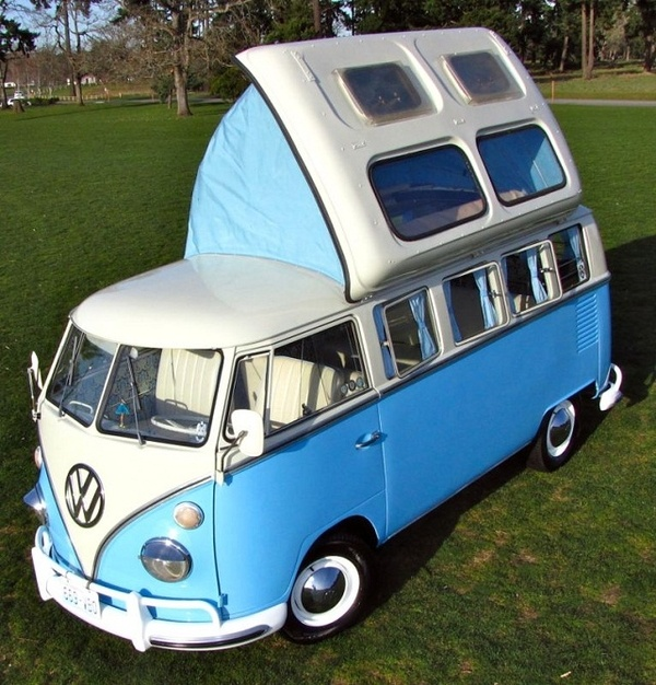 Beautiful 64 VW 13-Window Bus with Dormobile Top  http://media-cache2.pinterest.com/upload/184929128418929981_Gdqhp4s0_f.jpg https://www.tradze.com/gift-cardcummings27 Tradze.com cars and motorcycles