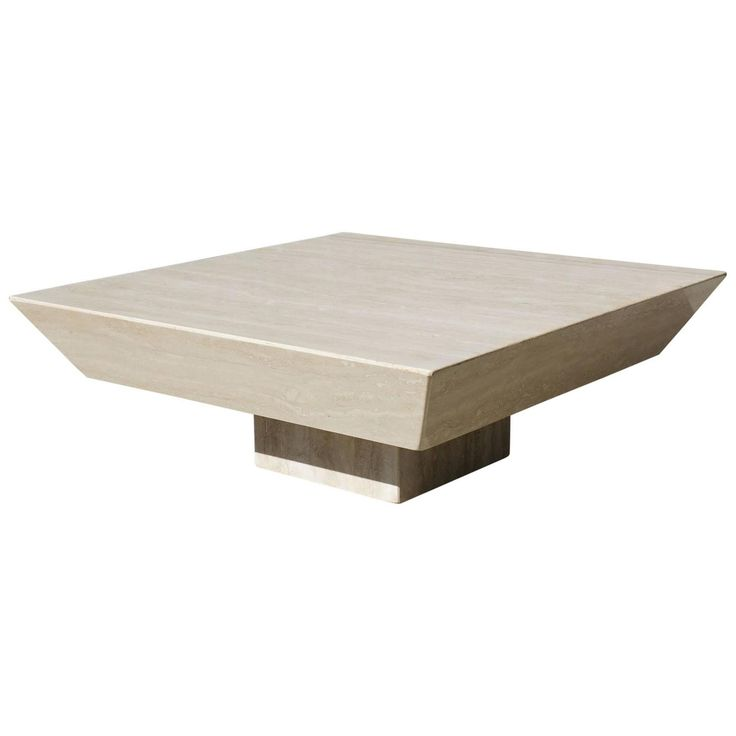 Large Vintage 1970s Travertine Coffee Table   From a unique collection of antique and modern coffee and cocktail tables at https://www.1stdibs.com/furniture/tables/coffee-tables-cocktail-tables/