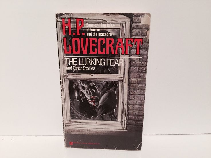 Vintage Horror Book The Lurking Fear - H.P. Lovecraft 1977 Paperback Edition Anthology Classics by LaCreeperieBookshop on Etsy https://www.etsy.com/listing/187642917/vintage-horror-book-the-lurking-fear-hp