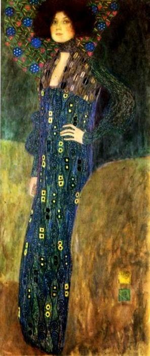 Klimt, portait of Emilie Flôge
