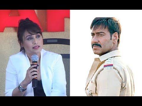 Rani Mukerji - SINGHAM RETURNS and MARDAANI are different movies.