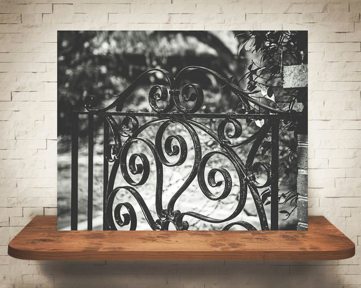 Black Gate Wall Decor : Best ideas about wrought iron wall art on