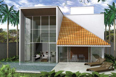 casas modernas pequeas