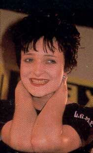 Siouxsie Sioux, year unknown but very young, with only a ...