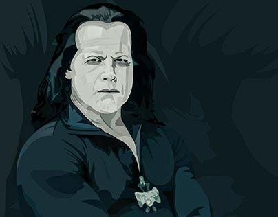 """Check out new work on my @Behance portfolio: """"Glenn Danzig - Vector"""" http://be.net/gallery/44686677/Glenn-Danzig-Vector"""