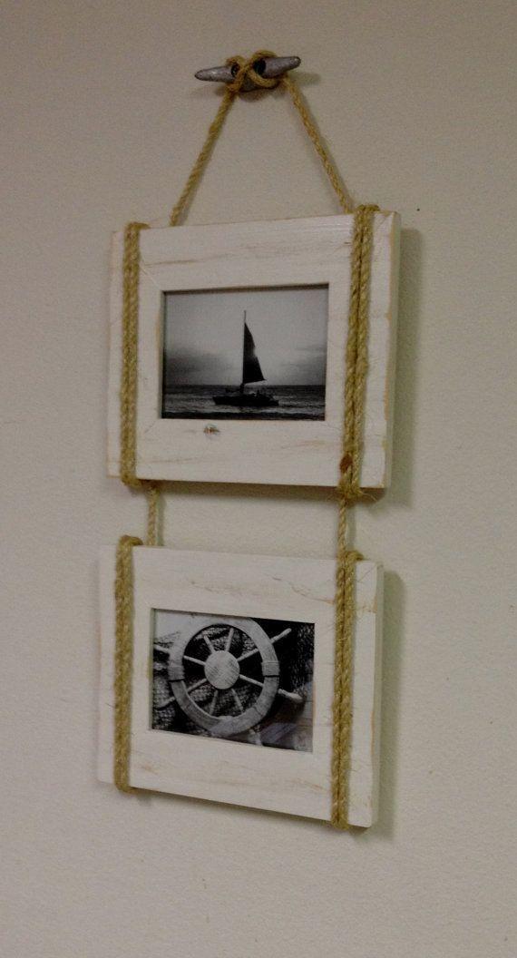 DIY Nautical Long Distance Frame | ldr13