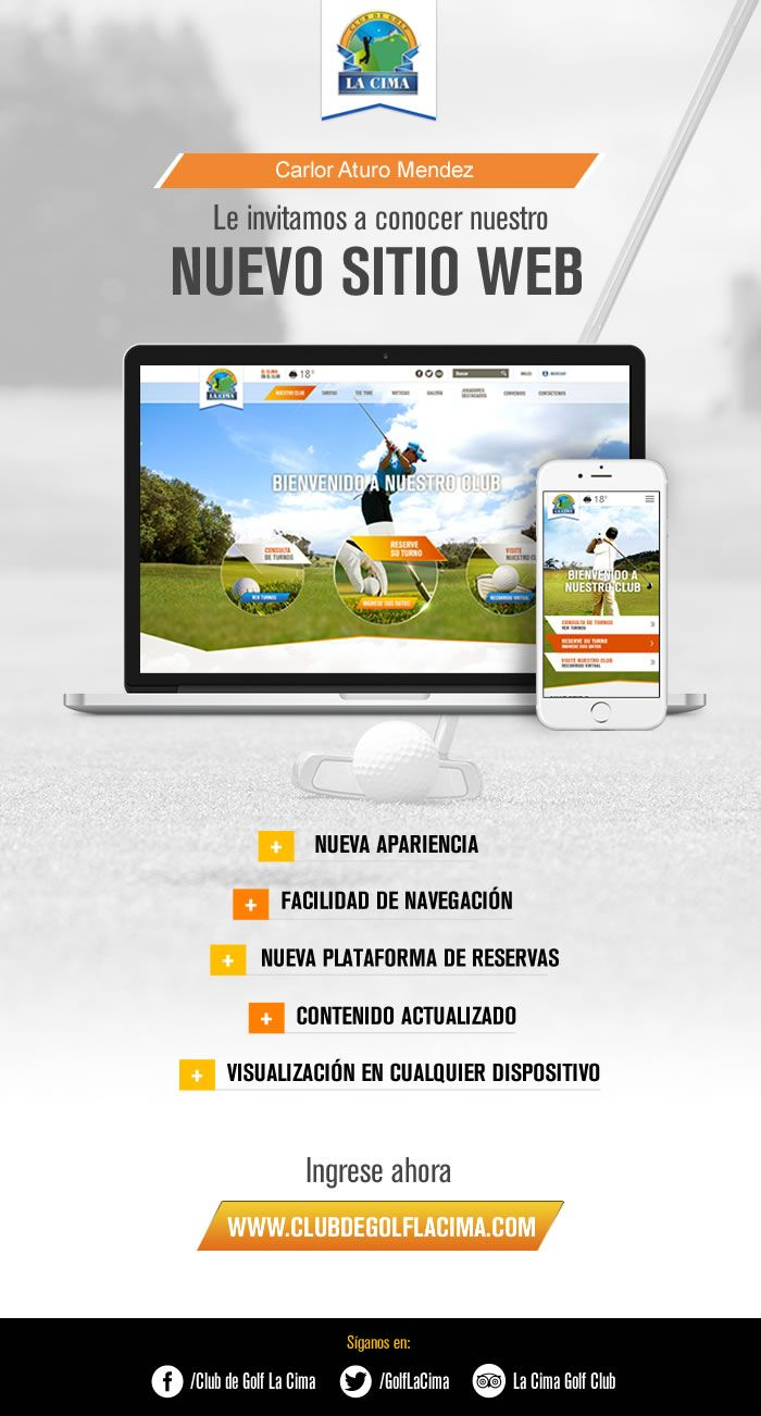 E-Mail Marketing #LaCima #Golf