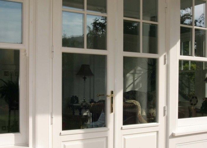 French bifold doors and matching windows