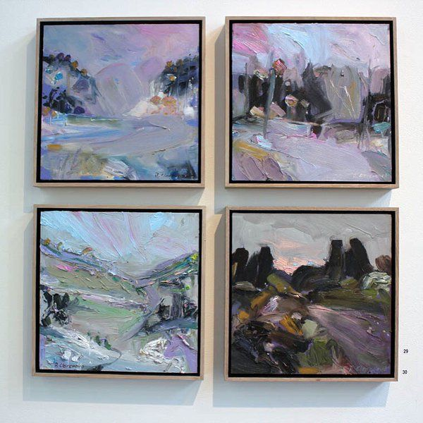 Exhibition: Richard Claremont #Art and #Inspiration - #Landscapes #Oil #Paintings