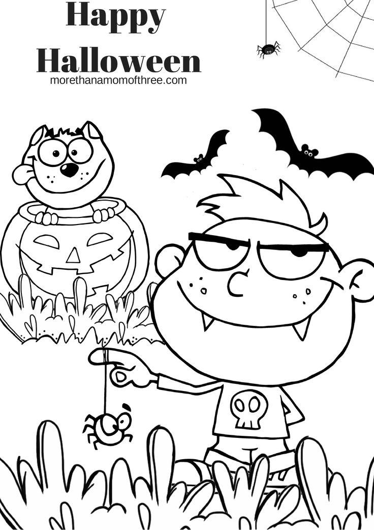 Berühmt Halloween Hexe Farbseiten Zeitgenössisch - Entry Level ...