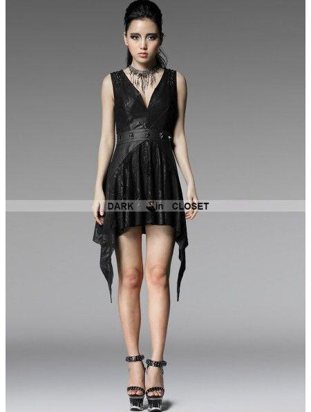 sexy Punk-Kleid
