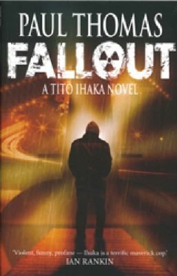 After 15 years, New Zealand's leading crime writer, Paul Thomas is back with his fifth Ihaka blockbuster - all previous four books were huge sellers, with Old School Tie winning Australia's prestigious Ned Kelly Award for crime writing. Fallout is the fast-paced sequel to Death on Demand, involving 3 interwoven plots