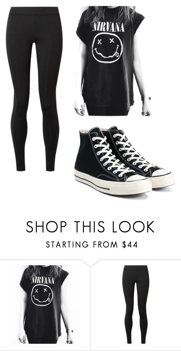 """""""Ivy School Outfit 1"""" by emopotato77 ❤ liked on Polyvore featuring The Row and Converse"""
